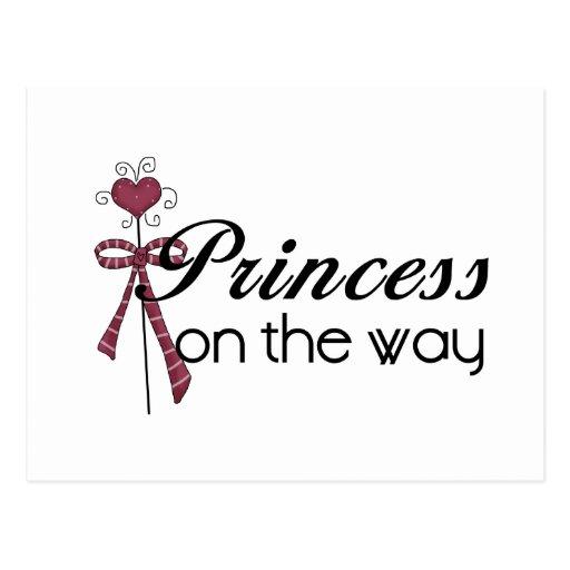 Princesa en la manera - modificada para requisitos postales