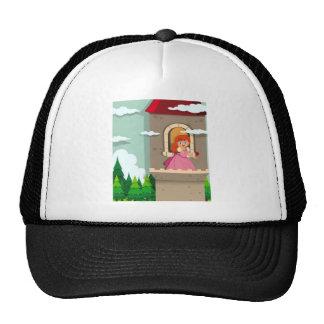 Princesa en la torre gorras de camionero