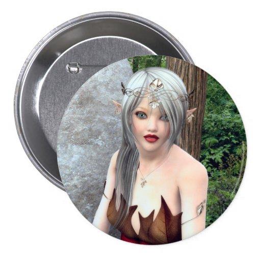 Princesa Fantasy Button del arbolado Pins
