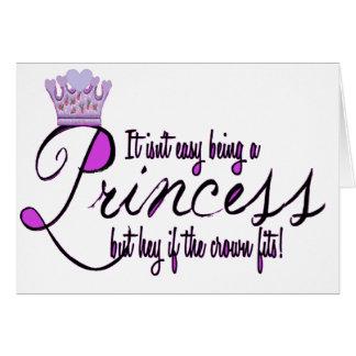 Princesa Felicitación
