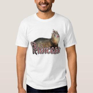 Princesa Ferret Camisetas