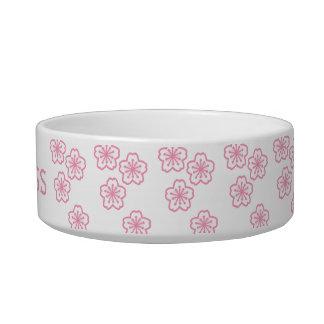 Princesa Floral Pet Bowls Tazón Para Agua Para Gatos