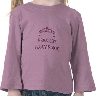 Princesa Fussy Pants Camiseta