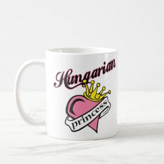 Princesa húngara taza de café
