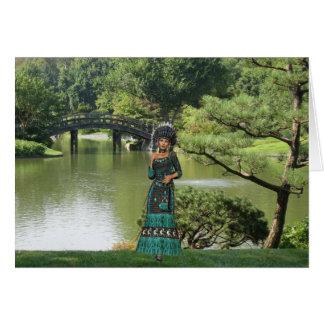 Princesa india tarjeta