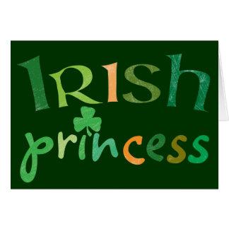 Princesa irlandesa felicitaciones