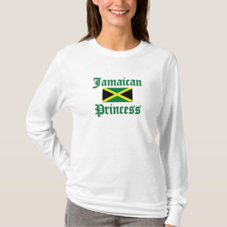 Princesa jamaicana camiseta