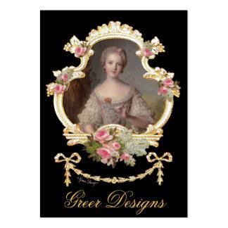 Princesa joven Louise Marie de Francia Plantillas De Tarjeta De Negocio