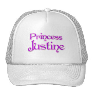 Princesa Justine Gorro De Camionero