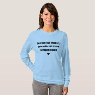 Princesa lanzamiento de peso, disco, camisa del