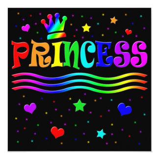 ¡Princesa linda Bachelorette Party del clip art Invitación Personalizada