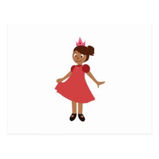 Princesa linda postales
