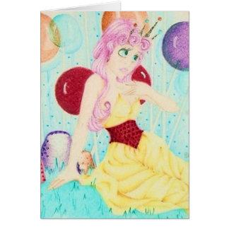 Princesa Lolly Tarjeta De Felicitación