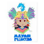 Princesa maya postales