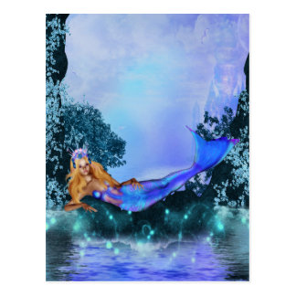 Princesa Mermaid Postales