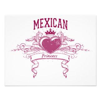 Princesa mexicana comunicados personalizados