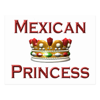 Princesa mexicana postal