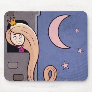 Princesa Mousepad del dibujo animado Alfombrilla De Ratón