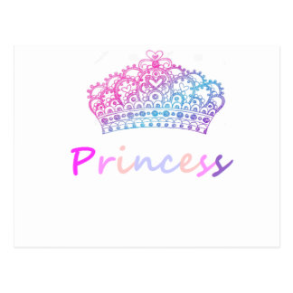 Princesa (multicolora) postal