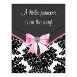 Princesa negra fiesta de bienvenida al bebé del anuncios personalizados