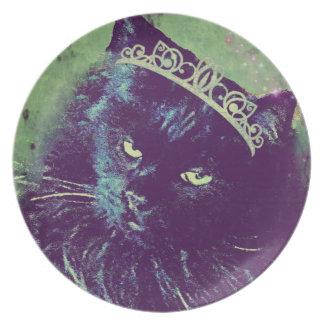 Princesa noruega del gato del bosque por el platos