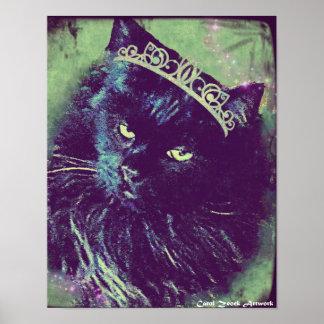 Princesa noruega Poster del gato del bosque