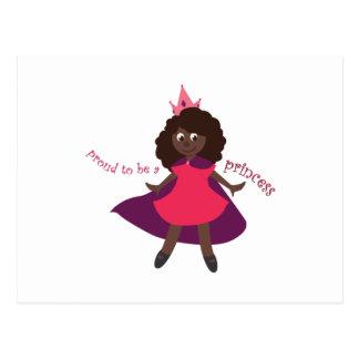 Princesa orgullosa postales