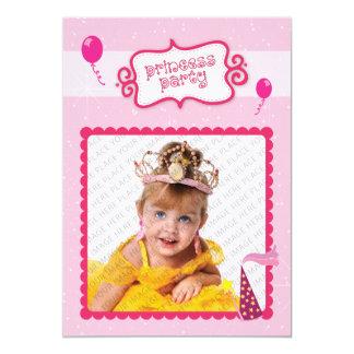 Princesa Party Invitacion Personalizada