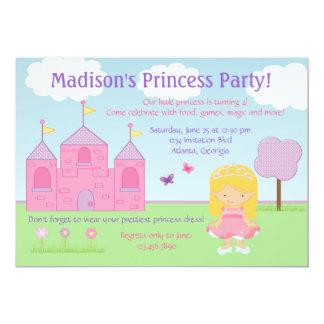 Princesa Party Invitation Invitación 12,7 X 17,8 Cm