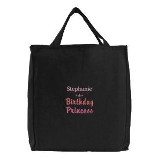 Princesa personalizada Embroidered Bag del Bolsa De Tela Bordada