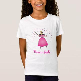 Princesa Personalized Girls Shirt de la bailarina Camiseta