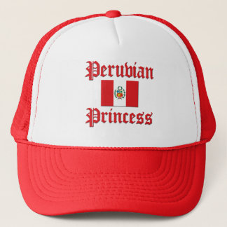 Princesa peruana gorra de camionero