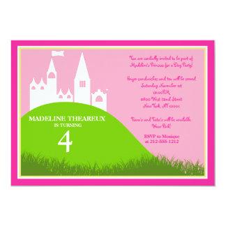 Princesa por un día invitación 12,7 x 17,8 cm