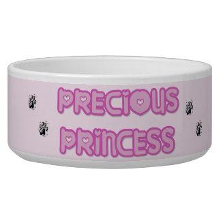 Princesa preciosa Pet Dish Comedero Para Mascota