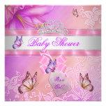 Princesa púrpura Butterfly del rosa del chica de l
