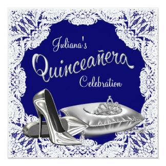 Princesa Quinceanera del azul real Anuncio