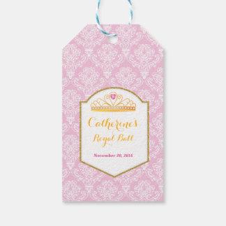 Princesa real Celebration Party Tag Etiquetas Para Regalos