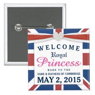 Princesa real - niña agradable de Guillermo y de Chapa Cuadrada