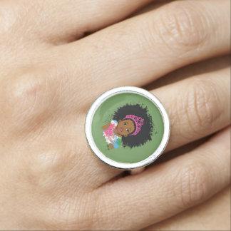 Princesa Ring de la moca Anillos