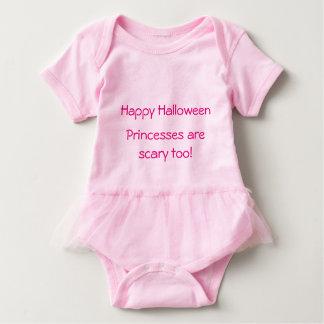 Princesa rosada de Halloween del mono del tutú de Body Para Bebé