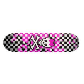 Princesa Skull Girls Skateboard Monopatín