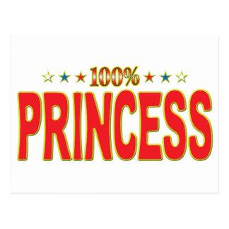 Princesa Star Tag Tarjetas Postales