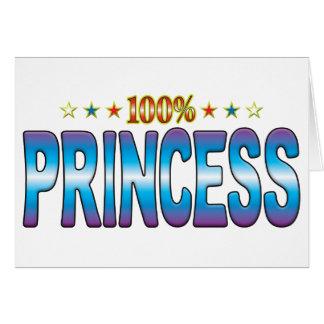 Princesa Star Tag v2 Tarjetas
