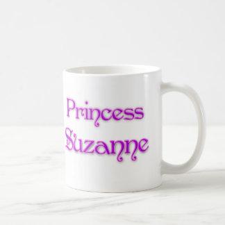 Princesa Susana Taza Básica Blanca