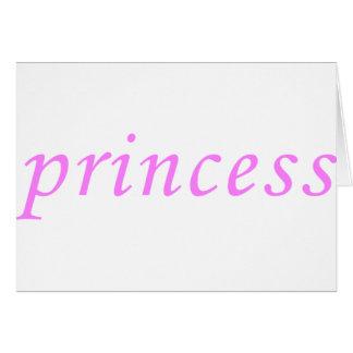 Princesa Felicitacion