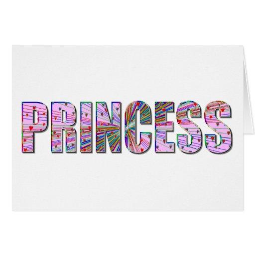 Princesa Tarjeta