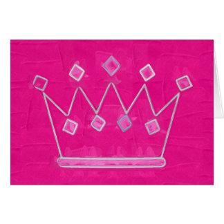 princesa tarjeta de felicitación