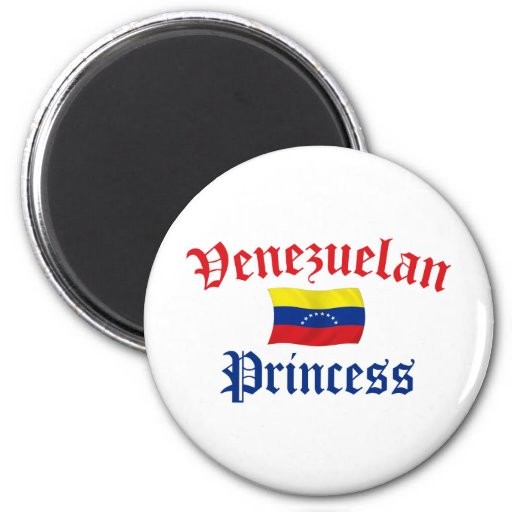 Princesa venezolana iman de nevera