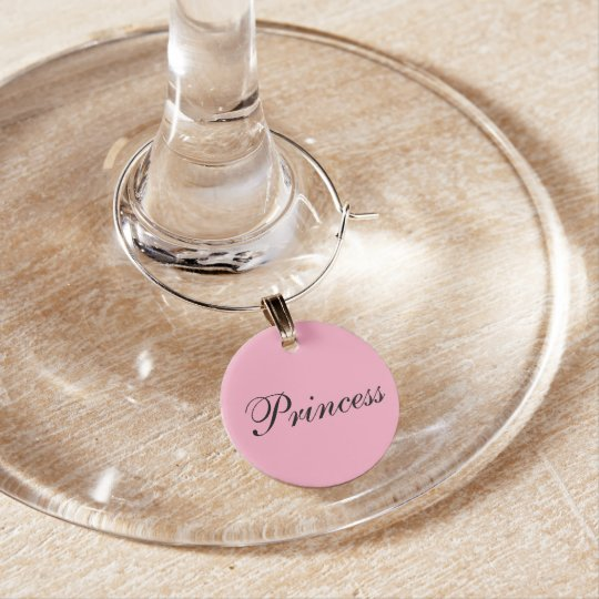 Princesa Wine Charm Identificadores De Copas