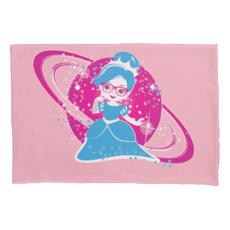Princesas Wear Glasses Too - la funda de almohada